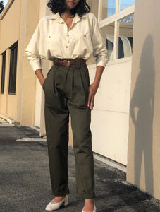 Na Nin Cotton Townes Trouser / Multiple Colors Available