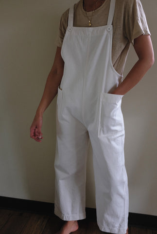 Ali Golden Overall Jumper / Available in Bone