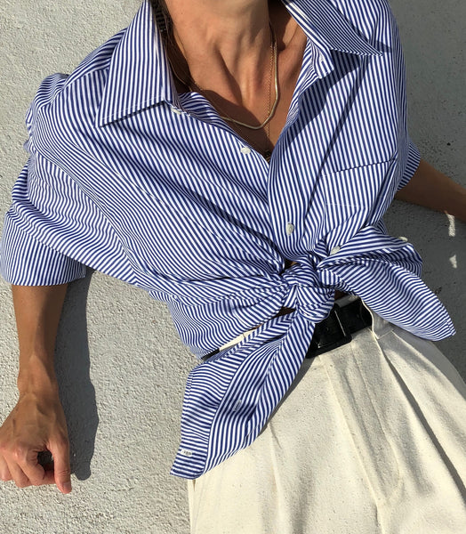 Ralph Lauren Classic Striped Button Up