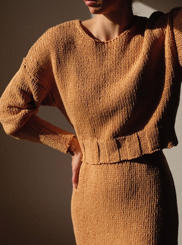 Paloma Wool Tratame Sweater / Available in Off-White & Peach
