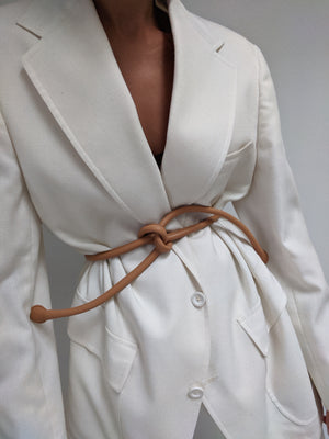 Are Studio Knot Belt / Tan