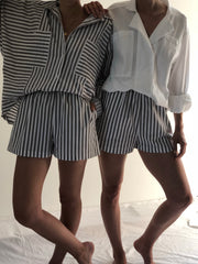 Pre Order Na Nin Samantha Cotton Striped Shorts