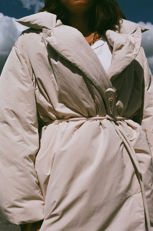 Amomento Duck Down Puffer / Beige