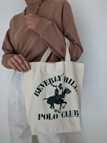 Vintage Polo Club Tote