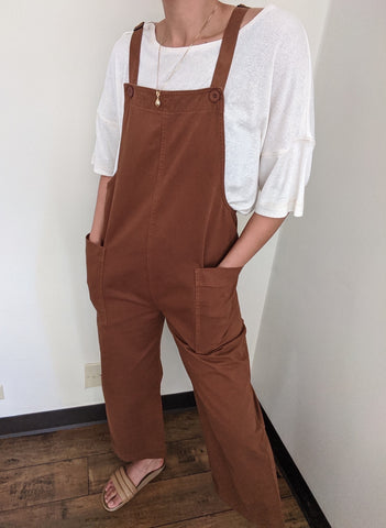 Ali Golden Overall Jumper / Available in Black & Copper