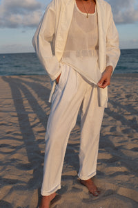 Na Nin Charlie Linen Cotton Blazer / Available in Multiple Colors