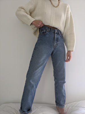 Vintage Calvin Klein High Waisted Denim