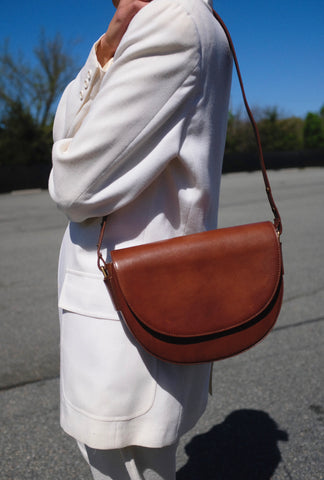 St. Agni Jolie Bag / Available in Antique Tan and Black