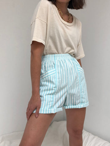 Vintage Sky Stripe Easy Shorts
