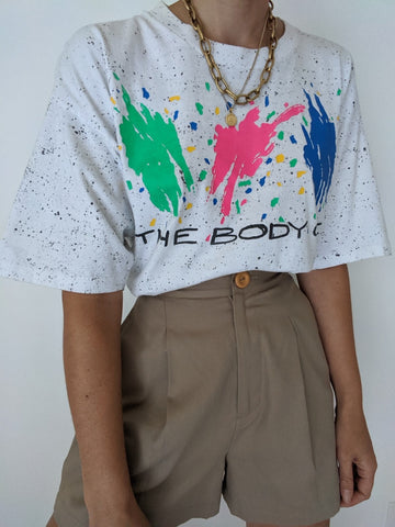 Vintage Body Co. Neon Crop Tee