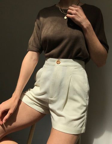 Vintage Soft Cocoa Tee