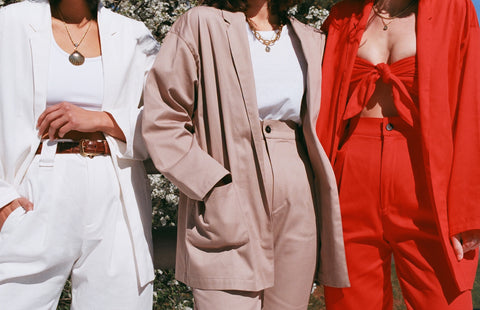 Na Nin Cotton Charlie Blazer / Available in Multiple Colors