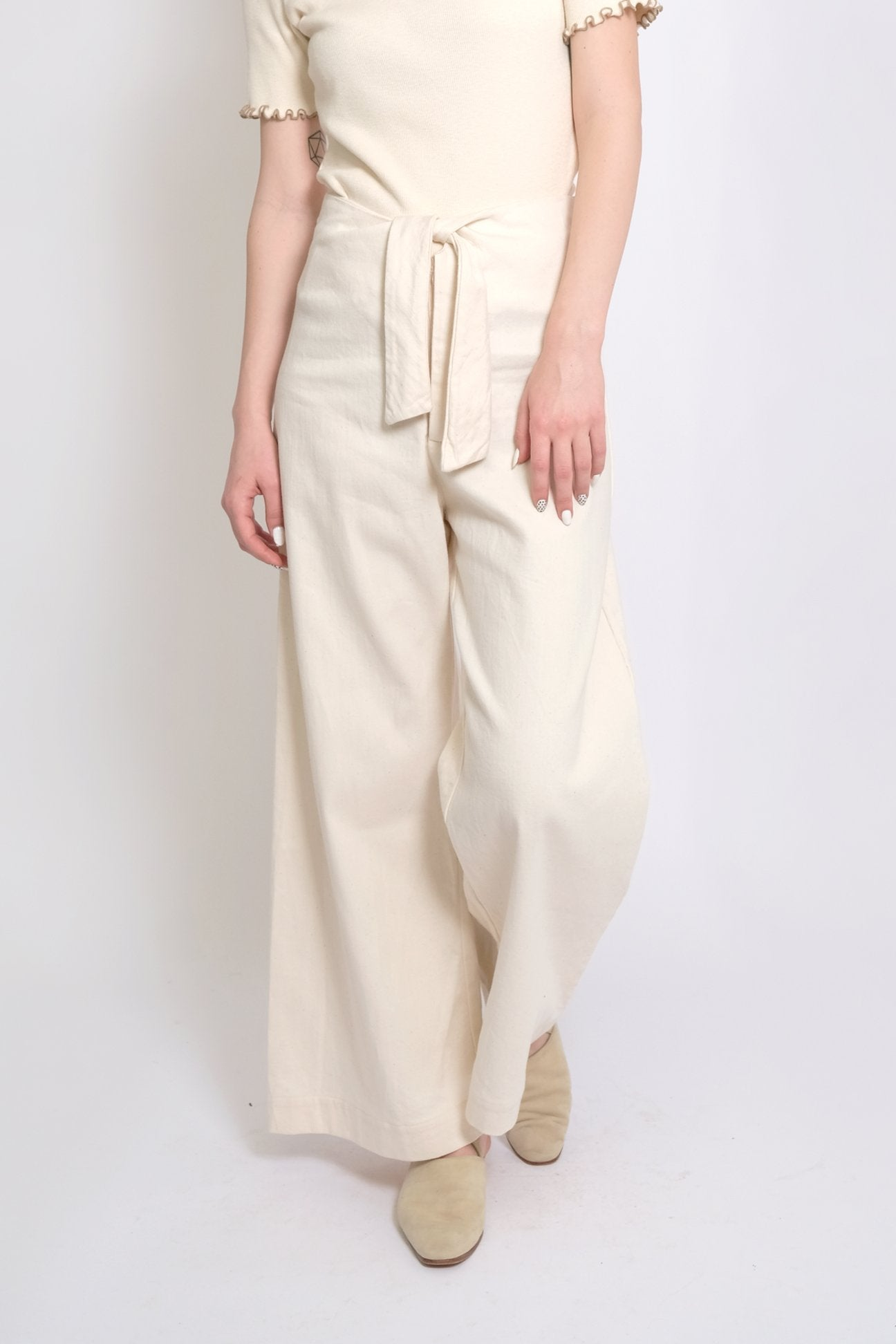 Micaela Greg Knotted Sailor Pant