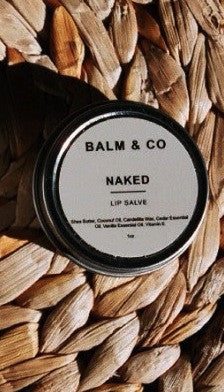 BALM & CO. / NAKED LIP SALVE