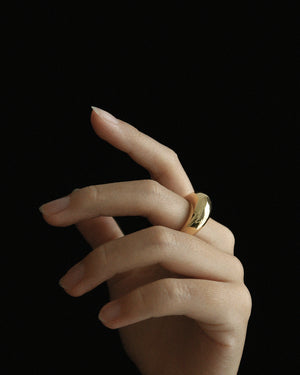 Common Muse Sade Bold Ring / Available in Gold & Silver
