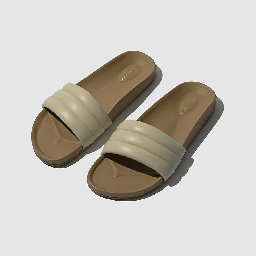 Beatrice Valenzuela Classic Sandalia / Available in Shell