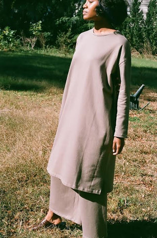 REVISITED T-SHIRT DRESS / FOREST