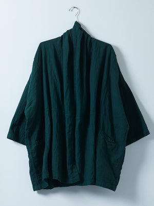 Atelier Delphine Haori Coat / Rainforest
