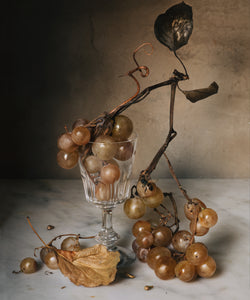 Still Life with Market Grapes and Bee - Artist Proof