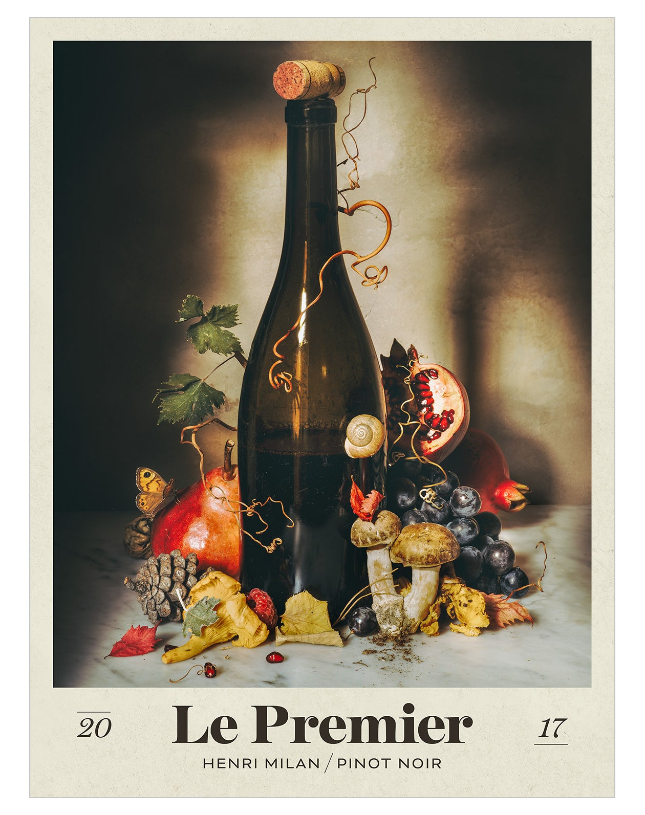 Domaine Milan Pinot Noir 2017 - Posters