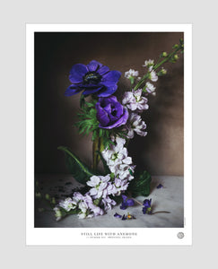 Still Life with Anemone Poster