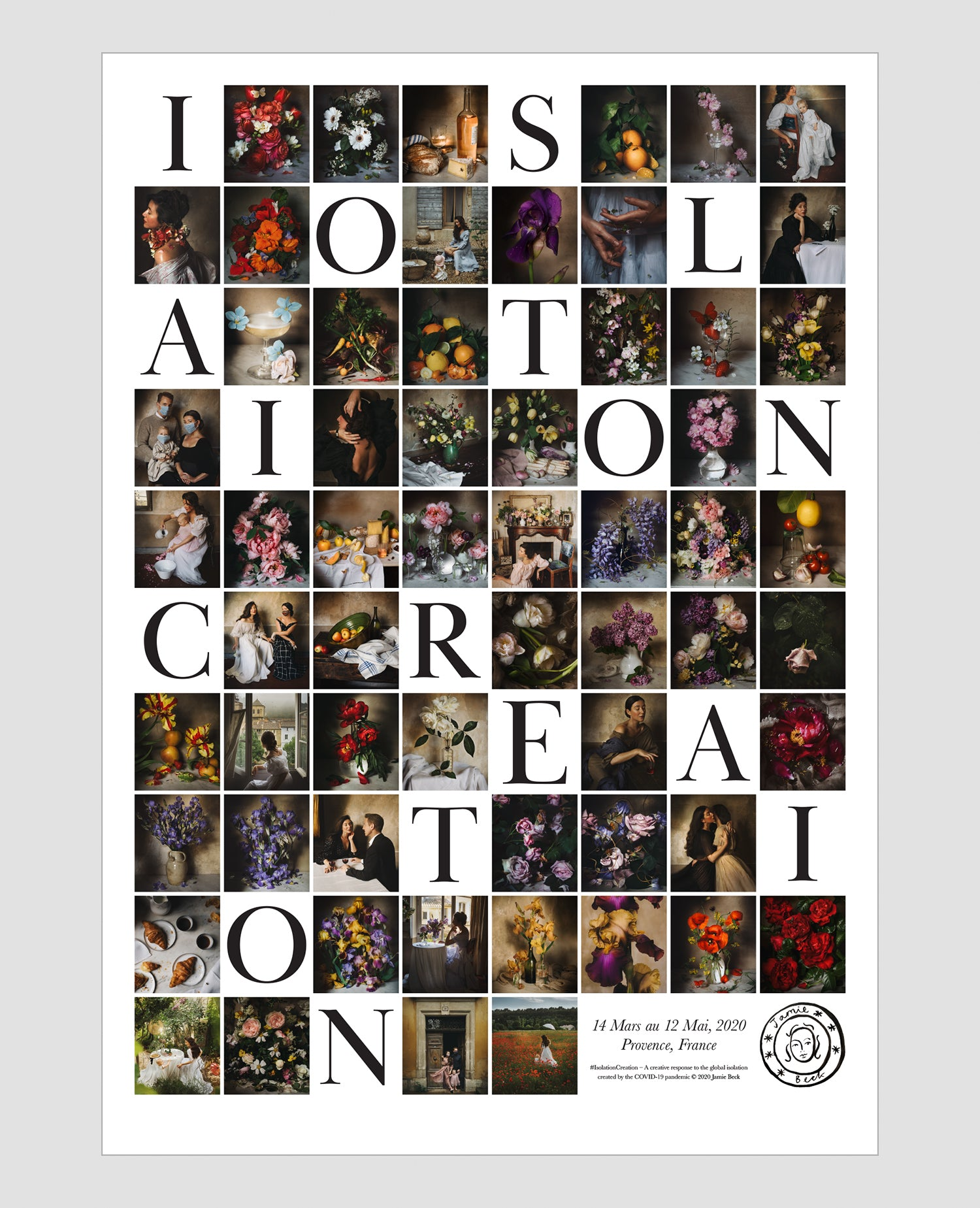Isolation Creation Signed Collector's Edition Finale Poster