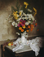 Load image into Gallery viewer, Still Life with Saturday Cosmos Poster