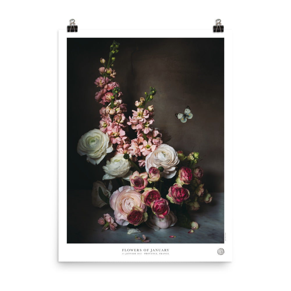 Flowers of January Poster
