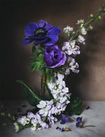 Load image into Gallery viewer, Still Life with Anemone Poster