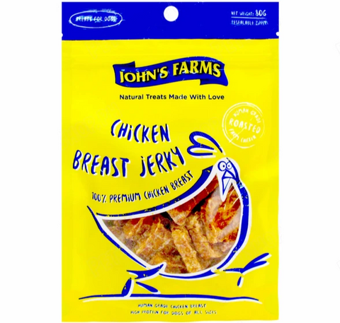 John's Farms Chicken Breast Jerky 80g