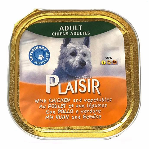 Plaisir Pate with Chicken and Vegetables