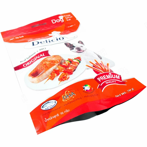 Delicio Original Real Salmon + BBQ 70g