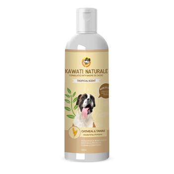 Doggies Choice Kawati Naturale Oatmeal & Tawas Shampoo 250ml