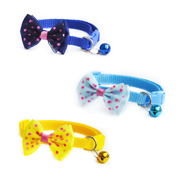 Adjustable Pet Bowtie With Bell