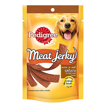 Pedigree Meat Jerky Grilled Liver Flavor 80g