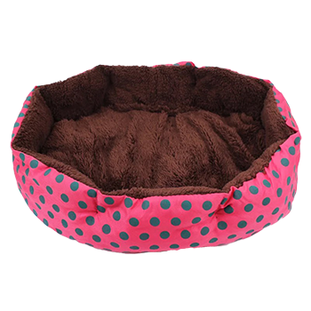 Dog and Cat Removable Cushion Sleeping Bed with Pillow