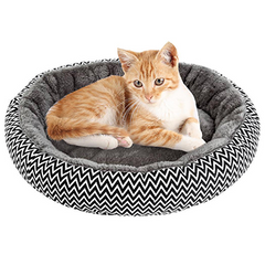 Dog and Cat Round Sleeping Bed