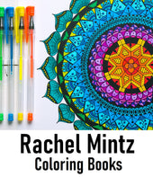 Rachel Mintz Coloring Books