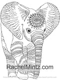 100 Animals - Huge Collection of Wildlife, Birds, Marine Life Coloring Book