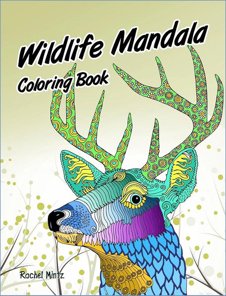 Wildlife Mandala - 30 Decorative Animals Patterns For Adults - Printable Format Book (No Physical Book Will Be Sent)