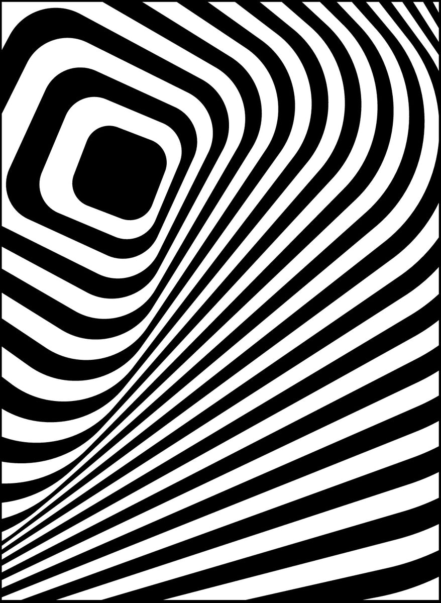 Abstract Patterns - PDF Coloring Book For Visually ...