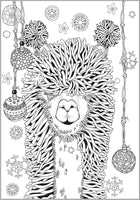 Alpaca & Llama Cool Collection Coloring Book For Adults Rachel Mintz