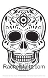 Amigos - Sugar Skulls, PDF Coloring Book