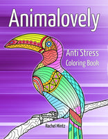Animalovely - Anti Stress Zen Relaxation Coloring Book