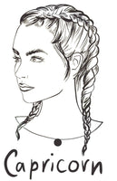 Astrology Girls - 36 Astrology Portraits Easy to Color For Beginners