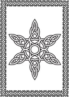 Celtic Patterns Coloring Book - Seamless Celtic Knots Mandala Designs Rachel Mintz
