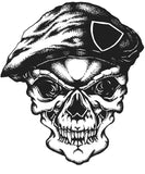 Dreadful Skulls - Horror, PDF Coloring Book - Skull Designs of Pirates, Vikings, Spartan