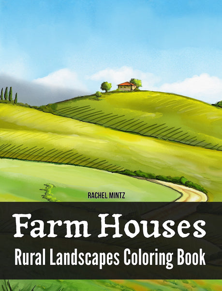 Farm Houses & Rural Village Landscapes In Scenic Nature (PDF Book)