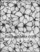 Floral Paradise - Relaxing Flowers, Beautiful Floral Anti Stress Designs, Digital Edition Coloring Book