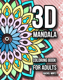 3D Mandala Coloring Book For Adults - Rachel Mintz